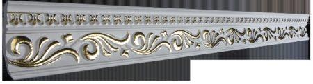 Купить Плинтус потолочный GP-55 Gold